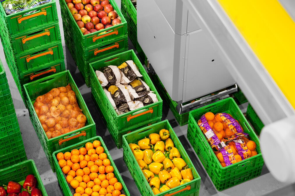 Grocery Sector Automation